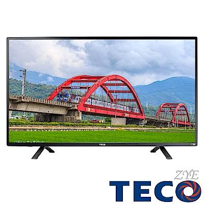 [無卡分期-12期]TECO東元 43吋 液晶顯示器+視訊盒 TL43A2TRE