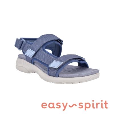 Easy Spirit-seTABATA2 毛氈透氣舒適涼鞋-藍色