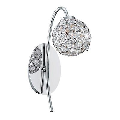 EGLO歐風燈飾 歐式奢華水晶鑽飾壁燈