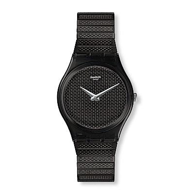 Swatch Deep Wonder系列 NOIRETTE S黑色本質手錶