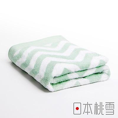日本桃雪 今治北歐浴巾(幸福綠)