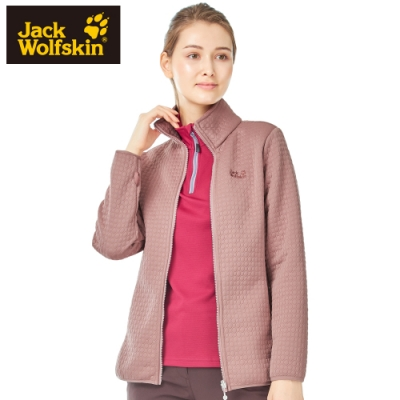 【Jack wolfskin 飛狼】女 率性立領夾棉保暖外套『沙漠粉』