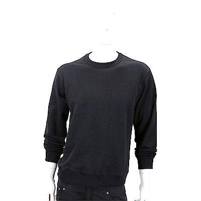 KENZO 品牌幾何LOGO黑色棉質運動衫(男款)