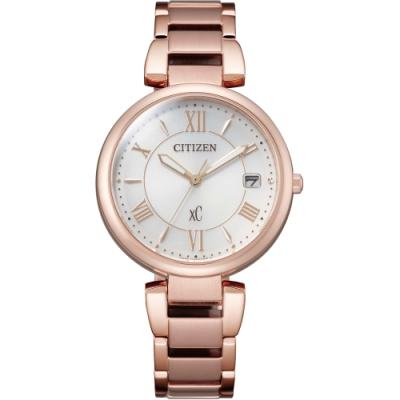 CITIZEN 星辰 XC 都會率性光動能亞洲限定女錶 EO1192-59A/33mm