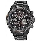CITIZEN 星辰限量SKY系列電波萬年曆腕錶45.5mm(JY8085-81E)