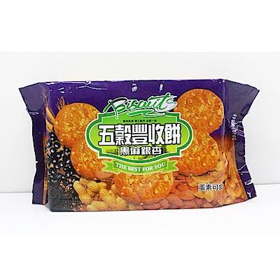 厚毅 五穀豐收餅-黑麻銀杏(320g)