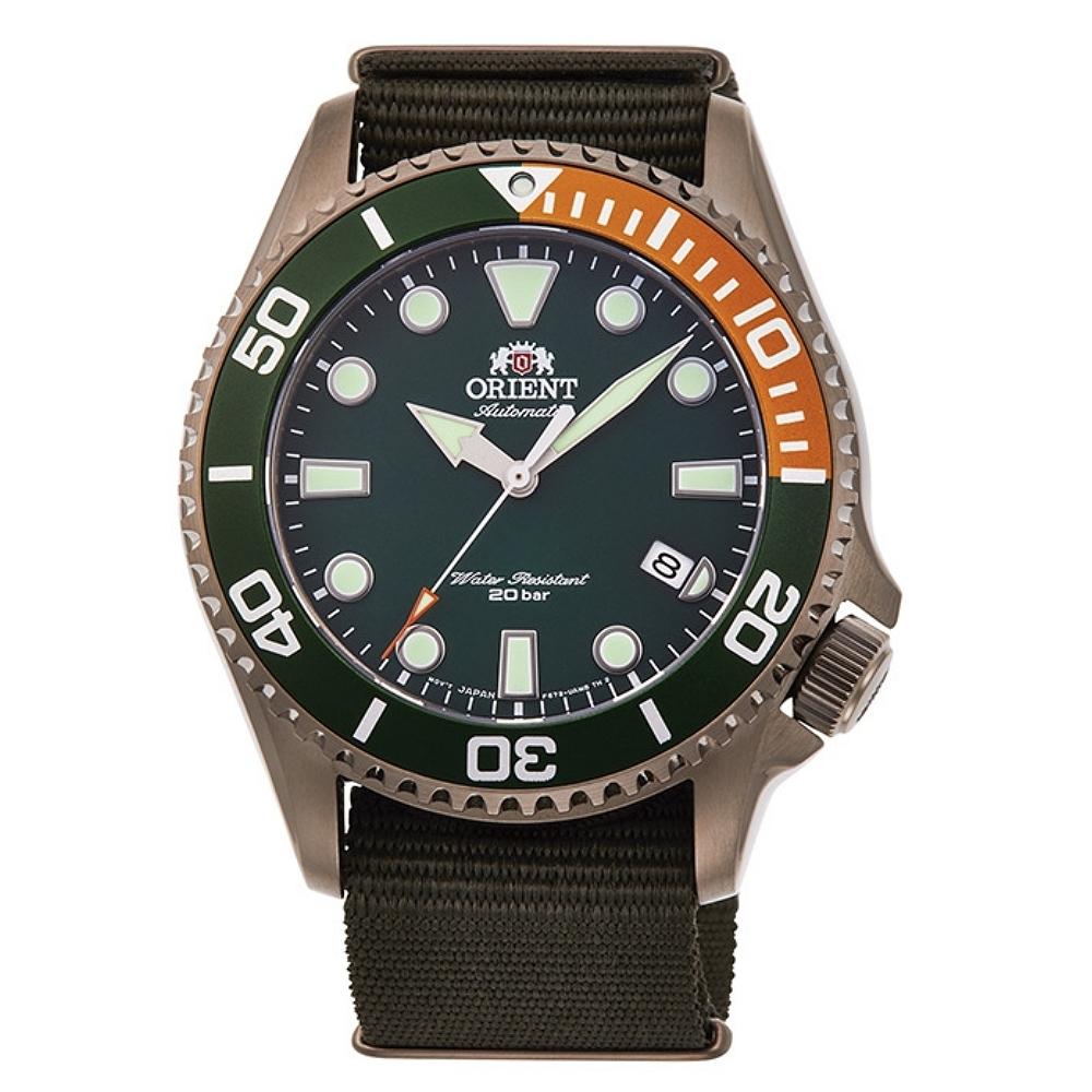 ORIENT 東方錶 深海遊龍 機械錶(RA-AC0K04E)綠水鬼/43.4mm