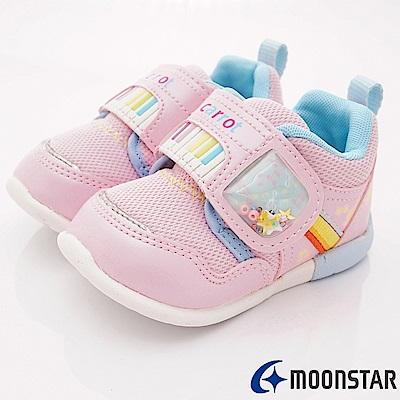 日本Carrot機能童鞋 3E寬楦玩耍款 ON074粉(寶寶段)