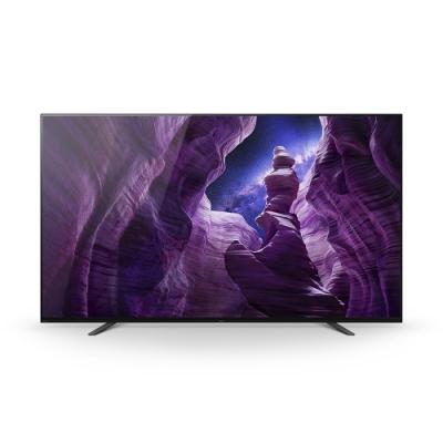 SONY索尼 55型4K HDR連網智慧OLED電視 KD-55A8H