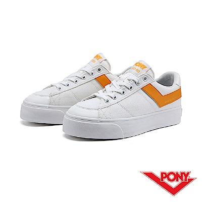【PONY】PRO 80系列-經典復古休閒鞋-女-黃