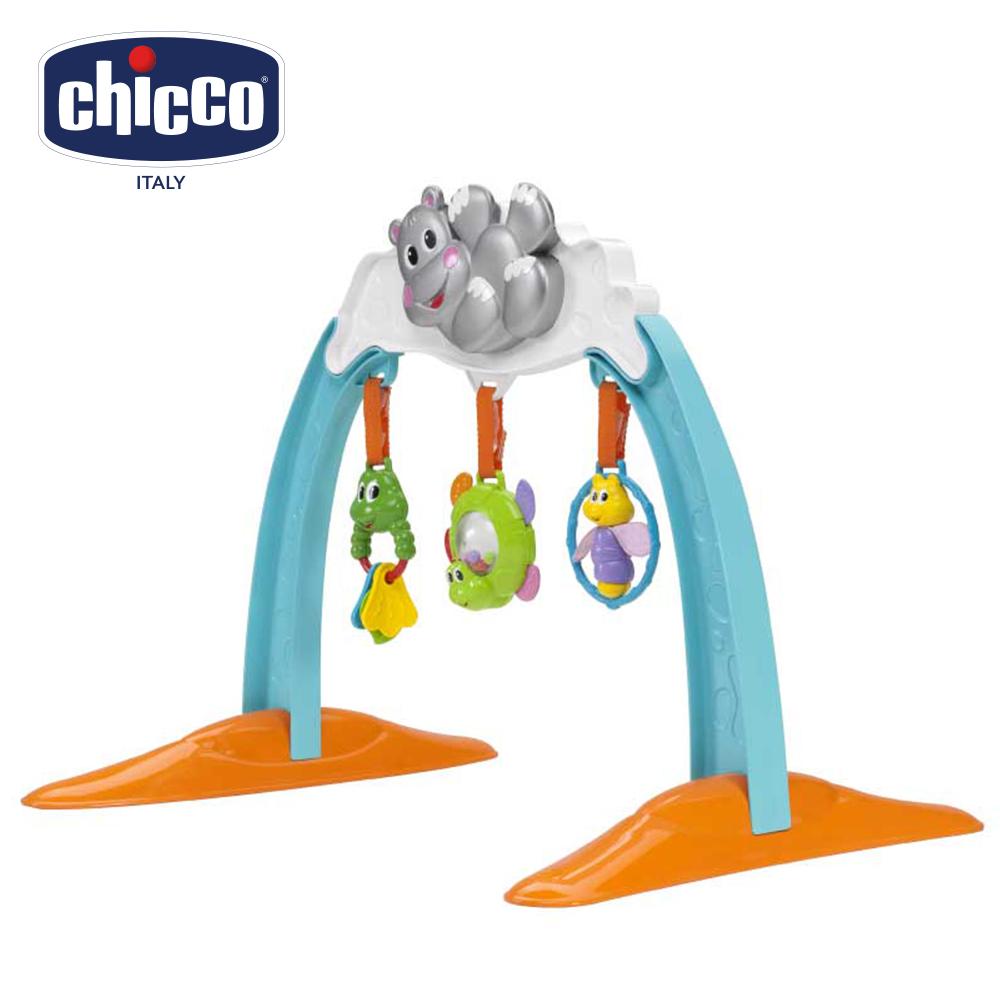 chicco-可愛河馬成長健力架
