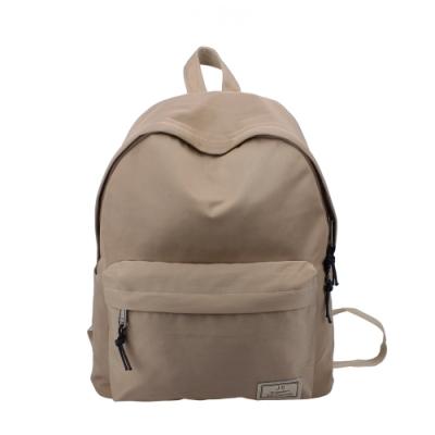 J II 後背包 原創水洗防潑水後背包-卡其色-6293-4