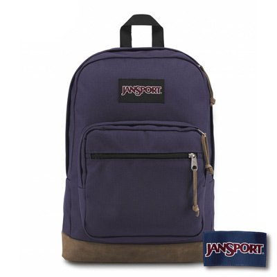 JANSPORT RIGHT PACK系列後背包 -暗紫