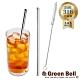 GREEN BELL綠貝316不鏽鋼防刮舌直吸管-附刷 (口徑0.6cm) product thumbnail 1
