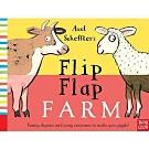 Flip Flap Farm 農場動物大合體精裝翻頁書(英國版)