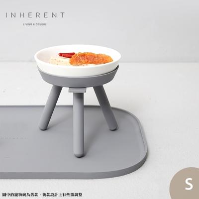 韓國Inherent Oreo 寵物高腳碗 寵物碗 寵物碗架 狗碗 S 大象灰