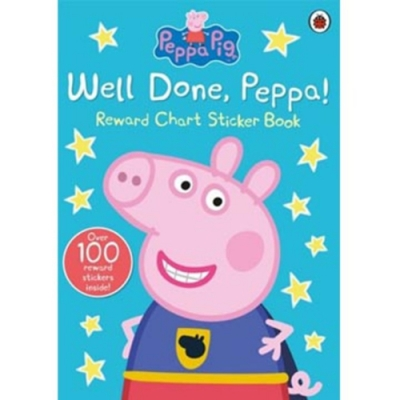 Peppa Pig:Well Done,Peppa! 佩佩豬貼紙奬勵書