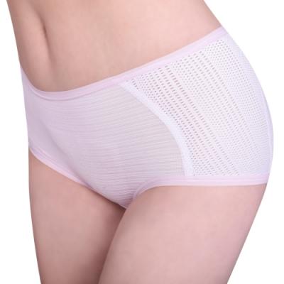 思薇爾 單品褲系列M-XL素面中低腰平口內褲(奶油色)