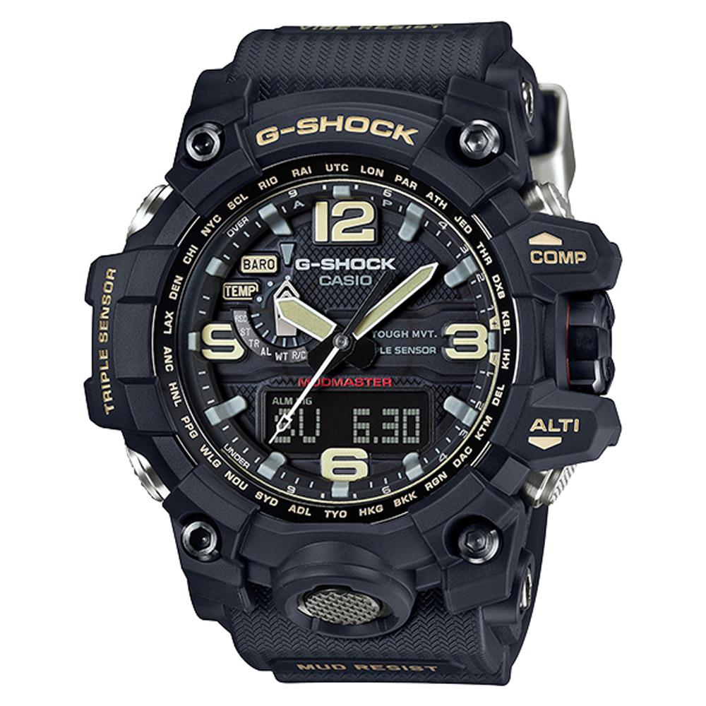 G-SHOCK 極限陸上探險家電波運動錶(GWG-1000-1A)-56.1mm