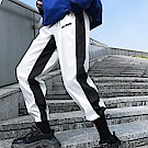 BuyGlasses 雙色縮口休閒棉質長褲