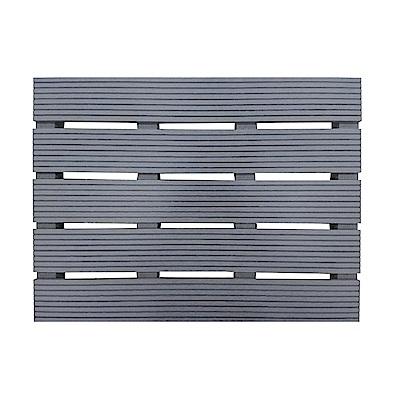 【貝力地板】造景塑木踏板 (45 x 60cm)-五入組