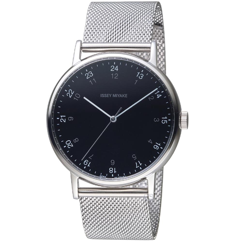 ISSEY MIYAKE三宅一生f系列雙時刻腕錶(NYAJ702Y VJ21-0360D)