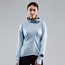 SUPERACE 中層內刷毛咖啡紗跑步外套3.0 / 女款 / 藍色