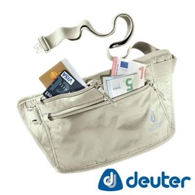 【德國DEUTER】隱藏式腰包/出國旅遊防竊包/貼身輕量包3910316白卡其