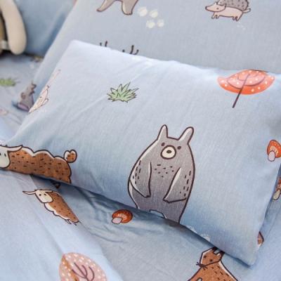 OLIVIA  童話星球 藍 標準雙人床包枕套三件組 230織天絲TM萊賽爾 台灣製