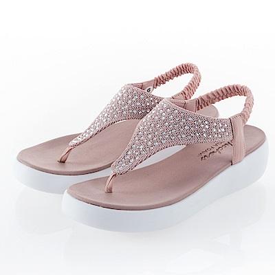 SKECHERS 女 休閒系列 涼拖鞋 LIGHT STAR - 32756BLSH