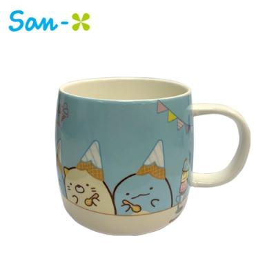 日本正版 角落生物 陶瓷 馬克杯 400ml 咖啡杯 角落小夥伴 San-X 279034