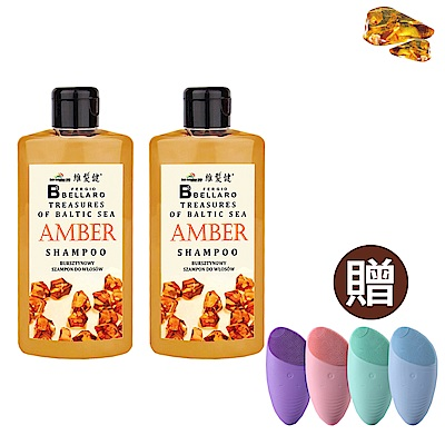 A+ 維髮健 琥珀能量護髮洗髮露500ml*2 買就送防水充電洗臉機