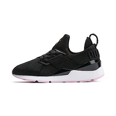 PUMA-Muse TZ Wn s女性復古休閒鞋-黑色