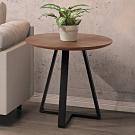 Boden-凱文1.7尺工業風雙色小茶几/邊桌-50x50x50cm