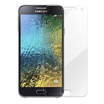 Metal-Slim Samsung Galaxy E5 9H鋼化玻璃保護貼