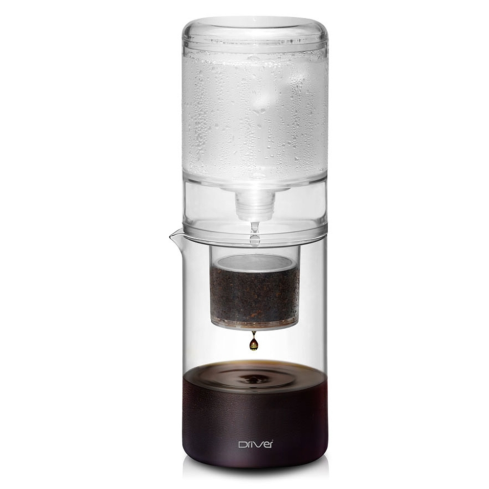 Driver設計款冰滴咖啡壺600ml-透明
