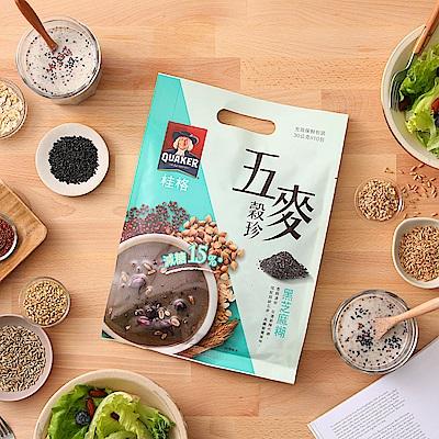 桂格 五麥穀珍-黑芝麻糊(30gx10包)