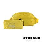 TUCANO COMPATTO 超輕量防水尼龍折疊收納腰包-黃