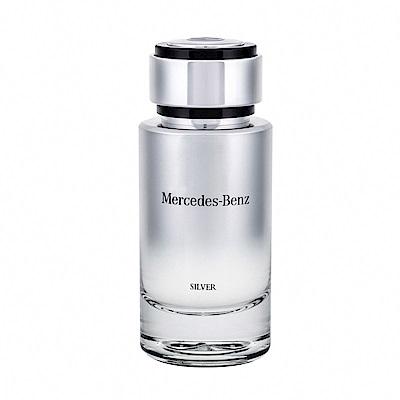 Mercedes Benz SILVER 銀輝幻羽 男性淡香水120ml tester