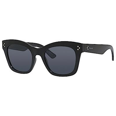 Polaroid PLD 4039/S-經典方框太陽眼鏡 黑色