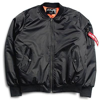 BuyGlasses 保暖潮流拉鏈飛行外套夾克