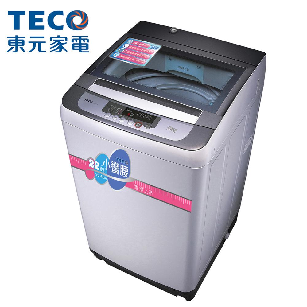 TECO東元 ★贈限量24CM不沾鍋 10KG 定頻直立式洗衣機 W1038FW 小蠻腰