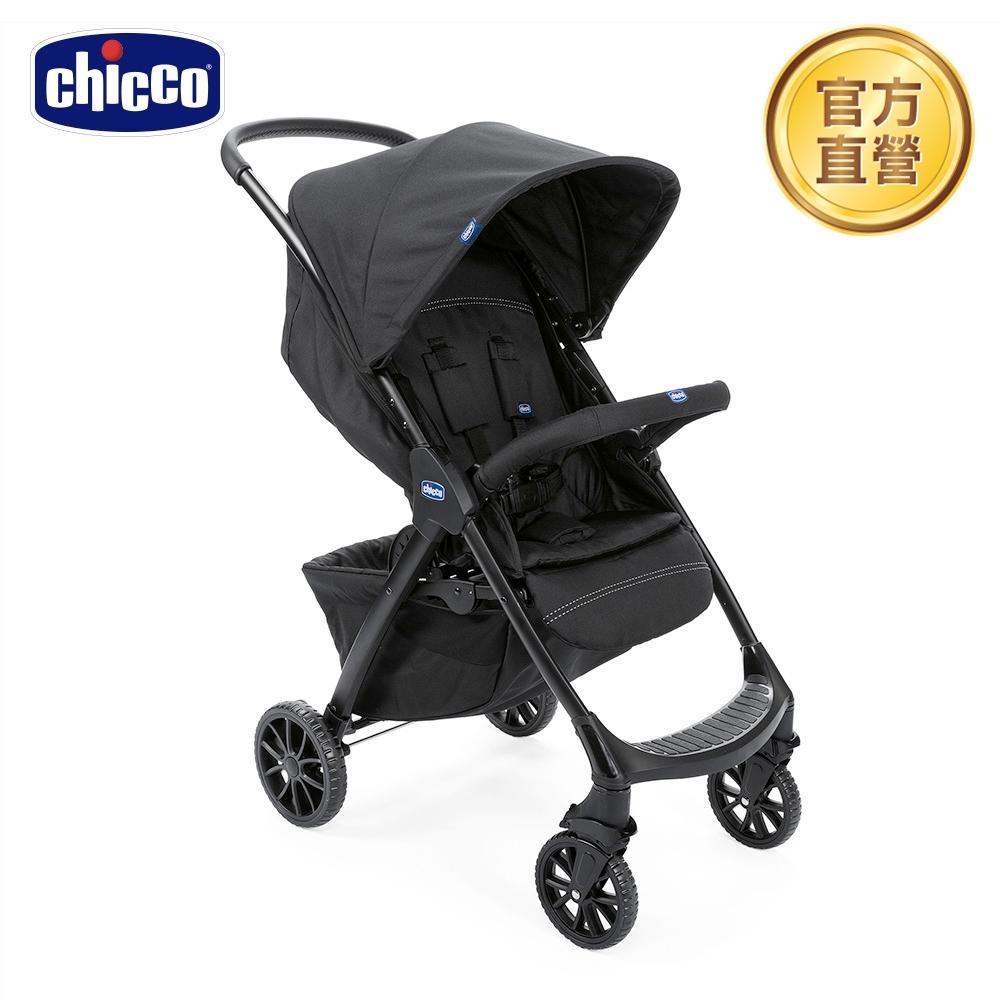 chicco-Kwik.One輕量休旅秒收車標配版(鋼鐵黑) 0m+適用
