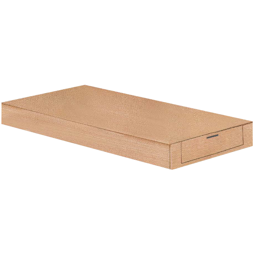 綠活居 博斯3.5尺單人抽屜床底(二色+單抽屜收納)-106x188x24cm免組