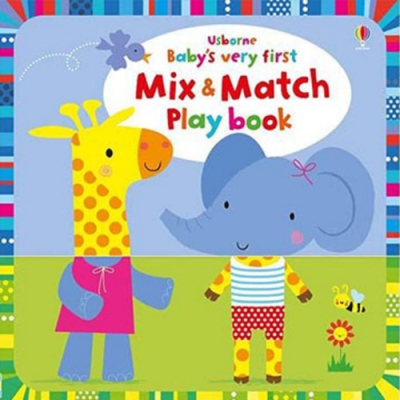 Baby s Very First Mix And Match Play Book 動物配對遊戲書