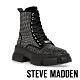 STEVE MADDEN-TANKER ROCK BOTTON 亮鑽搖滾厚底馬丁靴-黑色 product thumbnail 1