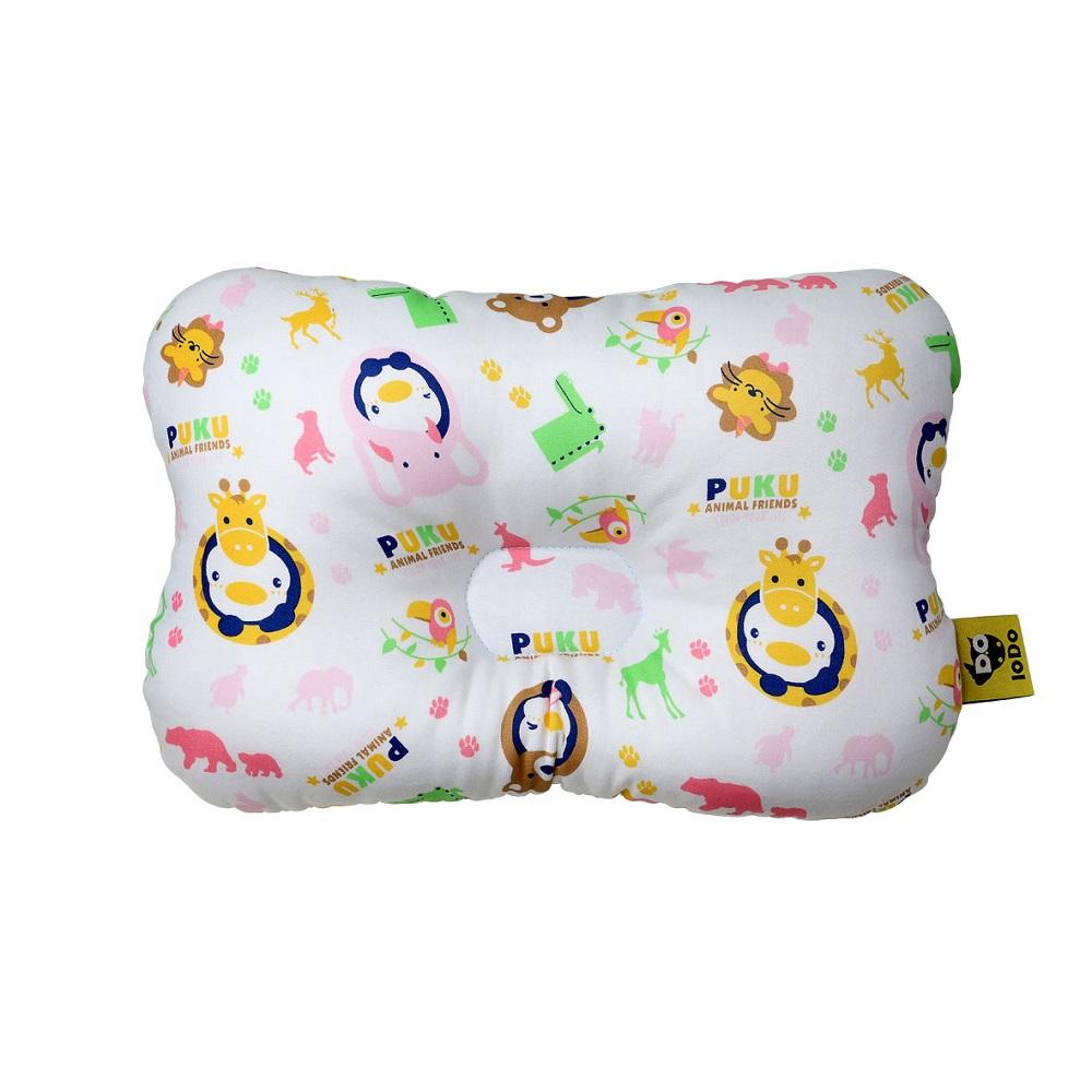【PUKU】Breeze透氣雲朵枕-動物家(粉色)