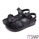 TTSNAP涼鞋-MIT輕量休閒舒適涼鞋 黑