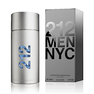 *Carolina Herrera CH 212 MEN 都會男性淡香水 100ml
