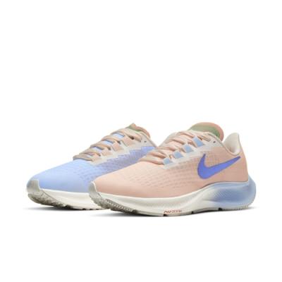 NIKE 慢跑鞋  運動鞋 緩震 女鞋 粉紅粉藍 DD8503488 AIR ZOOM PEGASUS 37